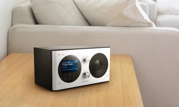 3DTester.de - Philips Digitalradio AE8000 DAB UKW Internet