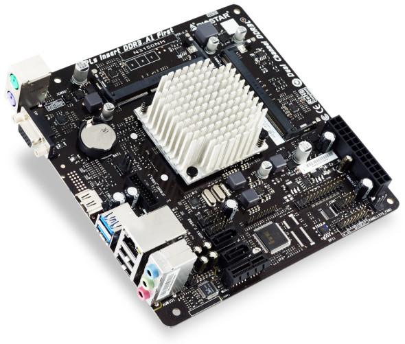 3DTester.de - Biostar N3150NH Mini-ITX Mainboard - Intel Braswell