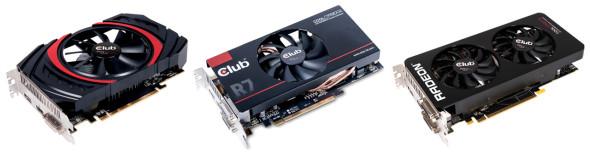 3DTester.de - Club3D R7 360 - Club3D R7 370 und Club3D R9 380
