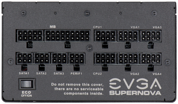 3DTester.de - EVGA P2 SuperNOVA 80Plus Platinum - 750 - 850 Watt