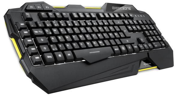 3DTester.de - Sharkoon Shark Zone K30 Gaming Keyboard - 1