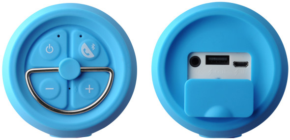 3DTester.de - LEPA BTS02 Bluetooth-Speaker-Freisprecheinrichtung-Powerbank - 3