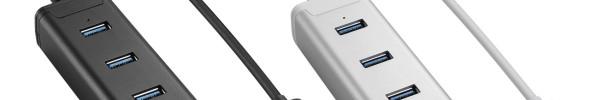 Sharkoon: Preiswerte USB3.0-Hubs mit Extras