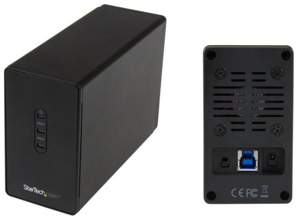 3DTester.de - StarTech S252BU33R Dual-HDD-Drive - 1