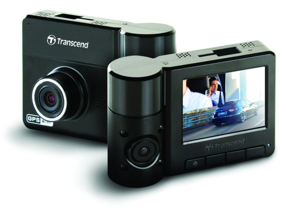 transcend dashcam mit duallens. Black Bedroom Furniture Sets. Home Design Ideas