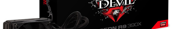 PowerColor bringt eine R9 390X mit Hybrid-Kühler