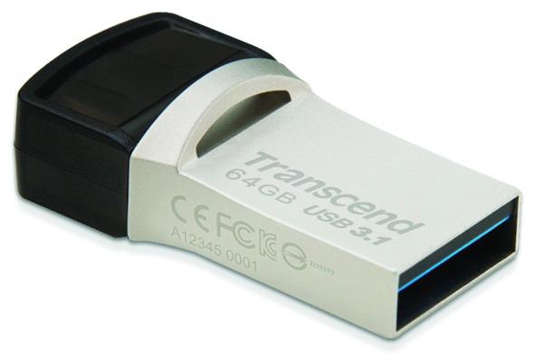 3DTester.de - Transcend JetFlash 890S - USB3.1 Typ-C - 1