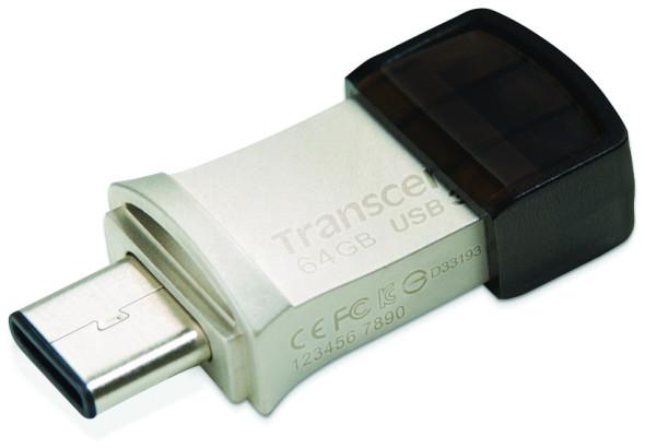3DTester.de - Transcend JetFlash 890S - USB3.1 Typ-C - 2