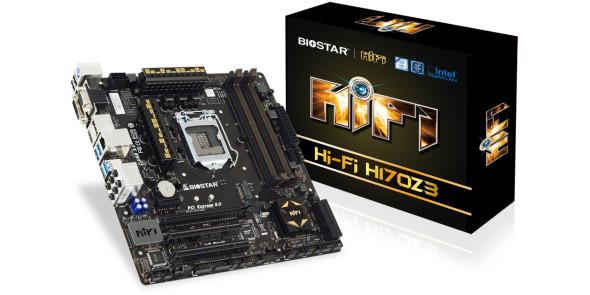 3DTester.de - Biostar H170Z3 LGA1151 Kombo-Mainboard - 1