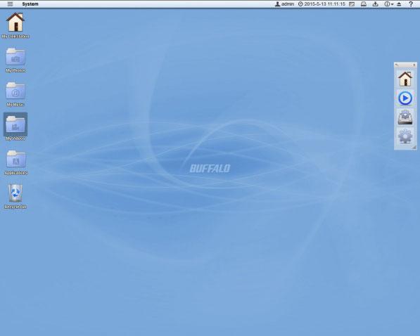 3DTester.de - Buffalo Linkstation 520 NAS - Realtek RTD1195N - 3