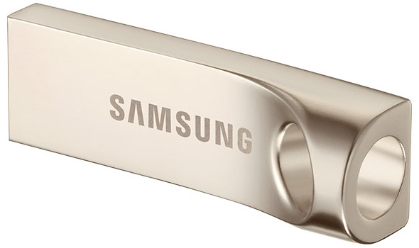 3DTester.de - Samsung USB 3.0 Flash Drive - Gold