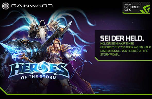 3DTester.de - Heros of the Storm - Diablo Kaijo Stim Pack - GeForce GTX 960 950