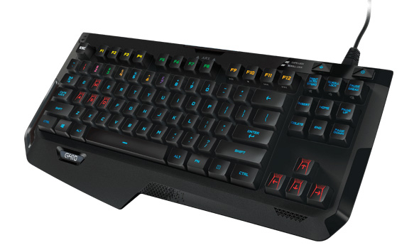 3DTester.de - Logitech G410 Atlas Spectrum - Gaming Keyboard mit Romer-G - 2