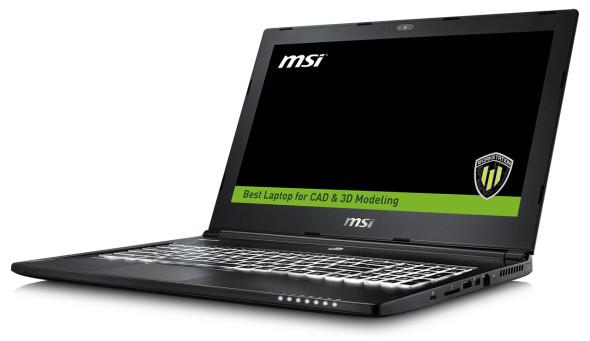 3DTester.de - MSI WS60-Q6 Workstation Notebook Skylake
