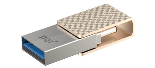 3DTester.de - PQI Connect 313 OTG-Stick - 3