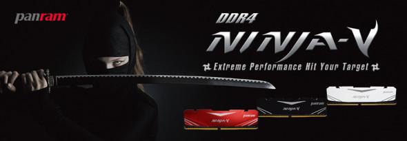 3DTester.de - Panram DDR4 Ninja-V RAM Speichermodule