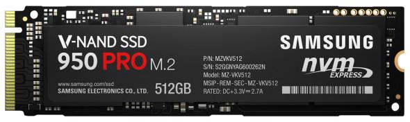 3DTester.de - Samsung SSD 950 Pro M.2 - SSM V-NAND - 1